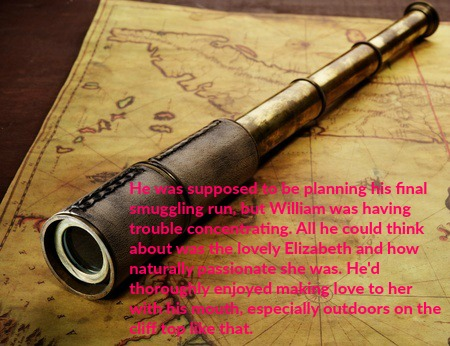 map and spyglass