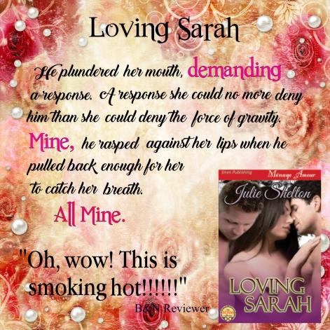 Loving Sarah Teaser #1