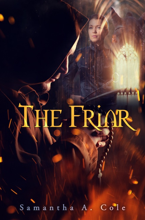 THE FRIAR - EBOOK COVER